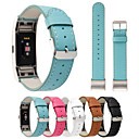 cheap Cell Phone Cases & Screen Protectors-Watch Band for Fitbit Charge 2 Fitbit Classic Buckle Genuine Leather Wrist Strap