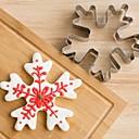 hesapli Tatil Fırsatlar-Bakeware araçları Paslanmaz Çelik Çocuklar / Pişirme Aracı / Yaratıcı Mutfak Gadget Ekmek / Kurabiye / Cookie 3D Çerez Araçları 1pc