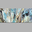 cheap Abstract Paintings-Oil Painting Hand Painted - Abstract Comtemporary / Simple Canvas / Stretched Canvas