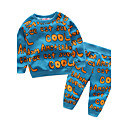 cheap Baby Boys' Clothing Sets-Baby Children's Cotton Daily Other Clothing Set, Cotton Spring/Fall Long Sleeves Blue