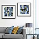 olcso Bekeretezett műalkotások-Absztrakt Alakzatok Illusztráció Wall Art,PVC Anyag a Frame For lakberendezési frame Art Nappali szoba Hálószoba Konyha Étkező
