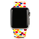 cheap Bike Trunk Bags-Watch Band for Apple Watch Series 4/3/2/1 Apple Sport Band Silicone Wrist Strap