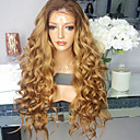 cheap Human Hair Wigs-Remy Human Hair Glueless Lace Front / Lace Front Wig Brazilian Hair Loose Wave Wig With Baby Hair 180% 100% Virgin Women's Short / Medium Length / Long Human Hair Lace Wig