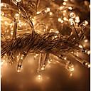 رخيصةأون أضواء شريط LED-KWB 3M أضواء سلسلة 300 المصابيح أبيض دافئ / أبيض / أزرق ضد الماء 220-240 V 1SET / IP65
