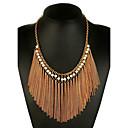 preiswerte Modische Halsketten-Damen Ketten / Statement Ketten - Künstliche Perle Erklärung, damas, Ethnisch, Modisch Gold Modische Halsketten Schmuck Für Party, Klub / überdimensional
