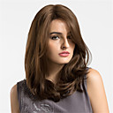 cheap Top Artists' Oil paitings-Synthetic Wig Natural Wave Synthetic Hair Brown Wig Women's Medium Length Capless