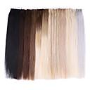 billige Tape-in hairextensions-Neitsi Tape Inngang Hairextensions med menneskehår Klassisk Hairextensions med menneskehår Ekte hår Dame - Beige Blond / / Bleach Blond Ash Brown / Strawberry Blonde / Platinum Blond Golden Brown