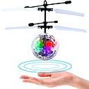 cheap Baseball Toys-Mini Magic Flying Ball Flying Gadget Plane / Aircraft Helicopter Gift Glow in the Dark LED Plastic Boys' Girls' Toy Gift / Fluorescent / with Infrared Sensor