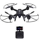 baratos Quadicópteros CR & Multirotores-RC Drone DMRC DM107S 4CH 6 Eixos 2.4G Com Câmera HD 2.0MP Quadcópero com CR Luzes LED / Retorno Com 1 Botão / Auto-Decolagem Quadcóptero
