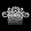 tanie Biżuteria religijna-Perłowy / Kryształ górski Grzebienie do włosów z 1 Ślub / Impreza / bal Winieta