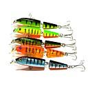 preiswerte Angelköder & Fliegen-5 Stück kleiner Fisch Kunststoff Seefischerei Fliegenfischen Köderwerfen Eisfischen Spinn Spring Fischen Fischen im Süßwasser Andere