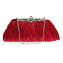 cheap Jewelry Sets-Women's Bags Polyester Evening Bag Ruffles Sky Blue / Wine / Royal Blue