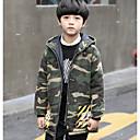 tanie Zestawy ubrań dla chłopców-Dla chłopców Moro Odzież puchowa / pikowana Army Green