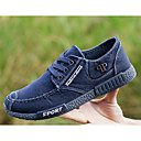 cheap Men's Oxfords-Men's Denim Spring / Fall Comfort Sneakers Walking Shoes Gray / Blue