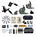 cheap Party Headpieces-BaseKey Tattoo Machine Professional Tattoo Kit - 4 pcs Tattoo Machines, Professional Case Included 2 rotary machine liner & shader / 2 alloy machine liner & shader