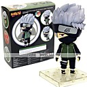 cheap Anime Action Figures-Anime Action Figures Inspired by Naruto Hatake Kakashi 10 cm CM Model Toys Doll Toy