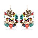 cheap Earrings-Women's Onyx Drop Earrings - Vintage, Elegant Rainbow For Casual Going out