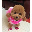 baratos Colares, Coleiras e Peitorais para Cães-Gato Cachorro Sapatos e Botas Sapatilha Mantenha Quente Prova-de-Água Sólido Preto Fúcsia Azul Para animais de estimação