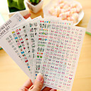 cheap Office Basics-6 Pcs/Set Cartoon Diary Sticker Phone Sticker Scrapbook Stickers