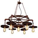 tanie Żyrandole-7 świateł Przemysłowy Lampy widzące Downlight Malowane wykończenia Metal Styl MIni 110-120V / 220-240V Nie zawiera żarówek / E26 / E27