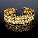 cheap Bracelets-Men's Cuff Bracelet / Bracelet - Gold Plated Vintage Bracelet Gold For Gift / Casual