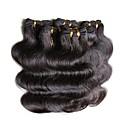 preiswerte LED Glühbirnen-Brasilianisches Haar Große Wellen Echthaar Menschenhaar spinnt Menschliches Haar Webarten Haarverlängerungen