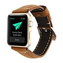 رخيصةأون حافظات الجوال & واقيات الشاشات-حزام إلى Apple Watch Series 4/3/2/1 Apple بكلة كلاسيكية جلد طبيعي شريط المعصم