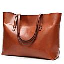 cheap Shoulder Bags-Women's Bags PU Shoulder Bag Pocket Black / Brown / Wine