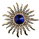 cheap Women's Sandals-Women's Crystal Brooches - Crystal, Imitation Diamond Classic, Statement Brooch Gold For Gift / Daily