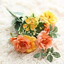 tanie Sztuczne kwiaty-Sztuczne Kwiaty 1 Gałąź Styl nowoczesny Róże Bukiety na stół