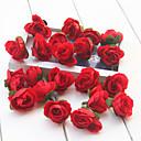 hesapli Suni Çiçek-Yapay Çiçekler 20 şube Modern Stil Güller Masaüstü Çiçeği