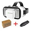 billige VR-briller-vr shinecon 5.0 glass virtuell virkelighet 3d briller for 4,7 - 6,0 tommers telefon med kontroller