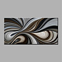 povoljno Apstraktno slikarstvo-Hang oslikana uljanim bojama Ručno oslikana - Sažetak Moderna Bez unutrašnje Frame / Valjani platno