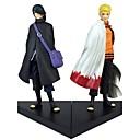 tanie Figurki Anime-Figurki Anime Zainspirowany przez Naruto Sasuke Uchiha Polichlorek winylu 18 cm CM Klocki Lalka Zabawka