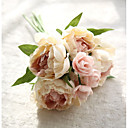 baratos Flor artificiali-Flores artificiais 8.0 Ramo Estilo Moderno Peônias Flor de Mesa