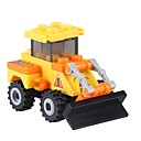 cheap Stuffed Animals-Building Blocks 27 pcs Novelty Vehicles Stress and Anxiety Relief Decompression Toys Parent-Child Interaction Cartoon Dozer Boys' Girls' Toy Gift