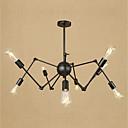 tanie Obrazy: abstrakcja-8-światło Żyrandole Światło rozproszone - Styl MIni, 110-120V / 220-240V Nie zawiera żarówki / 15-20 ㎡ / E26 / E27