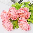 ieftine Obiecte decorative-Flori artificiale 5 ramură Pastoral Stil Bujori Față de masă flori