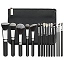 cheap Makeup Brush Sets-15pcs Makeup Brushes Professional Makeup Brush Set Pony / Synthetic Hair / Artificial Fibre Brush Eco-friendly / Professional / Soft Resin / Goat Hair Brush