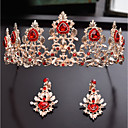 cheap Party Headpieces-Alloy Tiaras with Crystal 1pc Wedding / Party / Evening Headpiece