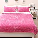 billige Tæpper ogplaider-Seng tæpper, Ensfarvet polyester Saucen jævnes dyner / Polyester
