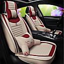 رخيصةأون اكسوارات مقاعد السيارات-ODEER أغطية مقاعد السيارات أغطية المقاعد البيج كتان / قماش الأعمال التجارية من أجل عالمي كل السنوات المحركات العامة