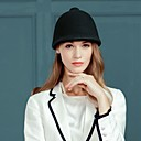 cheap Party Headpieces-Wool Hats with Cap 1 Casual / Daily Wear Headpiece