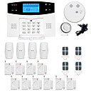 cheap Security Sensors & Alarms-GSM / PSTN Platform GSM / PSTN SMS / Phone / Learning Code 433Hz for