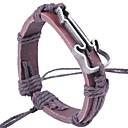 cheap Men's Bracelets-Men's Bracelet Bangles Leather Bracelet - Leather Guitar Vintage, Fashion Bracelet Jewelry Black / Coffee For Street Going out