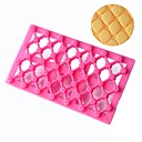 cheap Bakeware-Bread Mold Grid Shape Printing Embosser Fondant Gum Paste Cake Decoration Tools