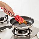 baratos Cartões e Suportes Marcadores de Lugar-1pç Utensílios de cozinha Pincel de Fibra Sintética Gadget de Cozinha Criativa Spoon Rests & Pot Clips para biscoito