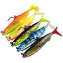 cheap Fishing Hooks-5 pcs Fishing Tools Soft Bait / Jig Head / Shad Plastic Classic / Generic Sea Fishing / Lure Fishing