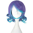 cheap Synthetic Capless Wigs-Cosplay Wigs Vocaloid Megurine Luka Anime Cosplay Wigs 33 CM Heat Resistant Fiber Women's