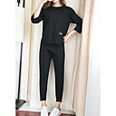 cheap Women's Athletic Shoes-Women's Set - Solid Colored Pant